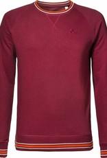 BETTER.. Clothing Biologisch katoenen, bodeauxrode trui