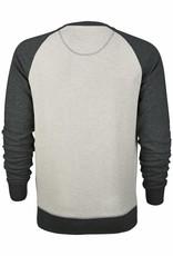 BETTER.. Clothing Pullover aus Bio-Baumwolle, off-weiß und grau