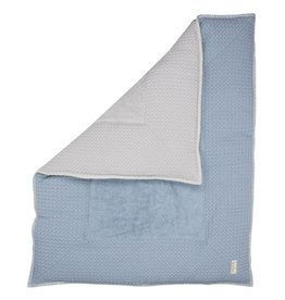 Koeka Boxkleed Soft Blue/Silver Grey