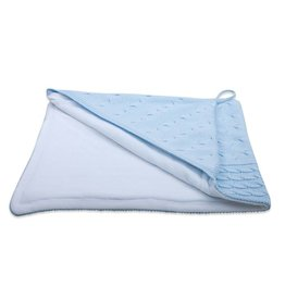 Baby's Only Omslagdoek Kabel Chenille Baby Blauw