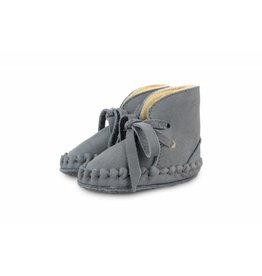 Donsje Pina Shoes Lining Nubuck Grey