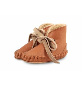 Donsje Pina Shoes Lining Leather Cognac