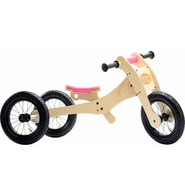 Trybike Trybike Wood 4 in 1 Pink