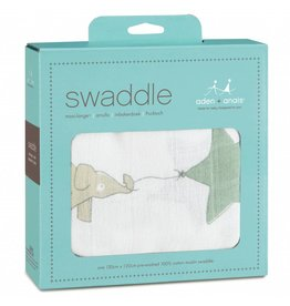 Aden + Anais Swaddle Up Up and Away Single