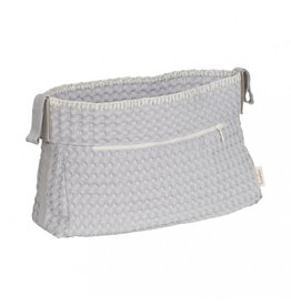 Koeka Buggy purse Silver Grey