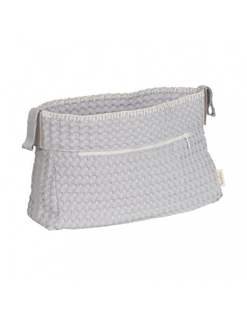 Koeka Buggy purse Silver Grey