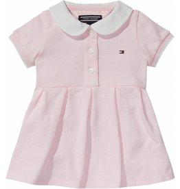 Tommy Hilfiger Roze polo jurkje met broekje