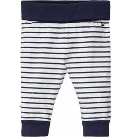 Tommy Hilfiger Katoenen broek blauw/wit gestreept