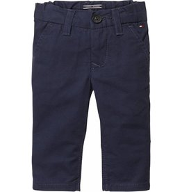 Tommy Hilfiger Donkerblauwe pantalon regular fit