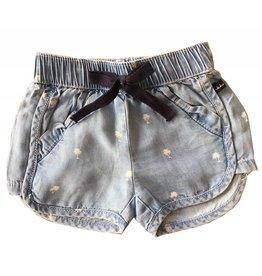 IKKS Blauwe korte broek voor meisjes - maat 67 laatste item!
