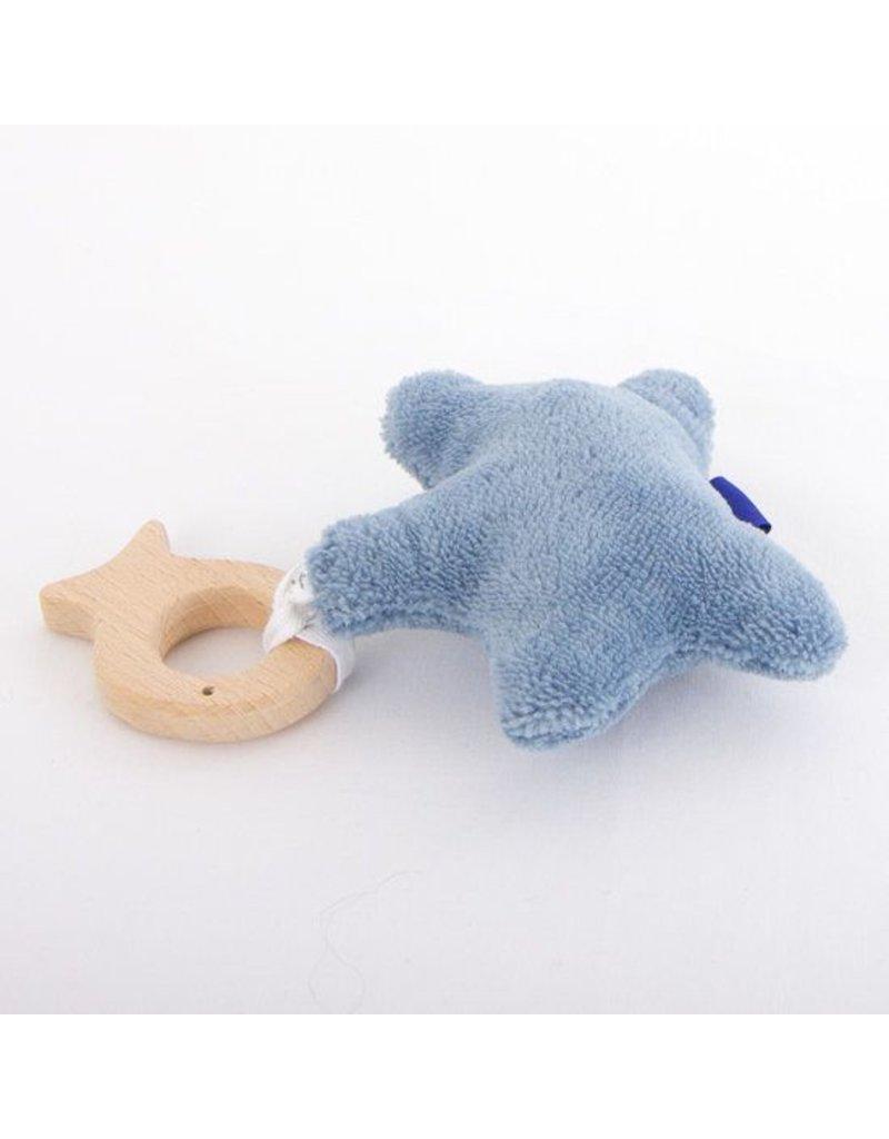 Toeti Bijtring/knuffelster blauw