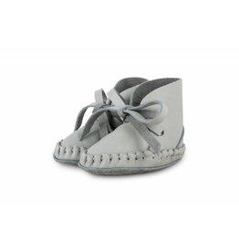 Donsje Pina Leather Light Grey