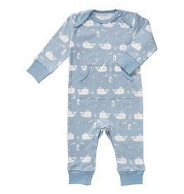 Fresk Pyjama Whale Blue Fog zonder voet