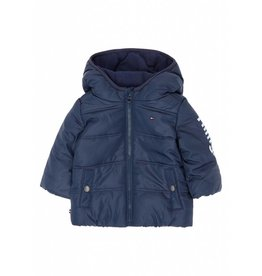 Tommy Hilfiger Donkerblauwe warme jas