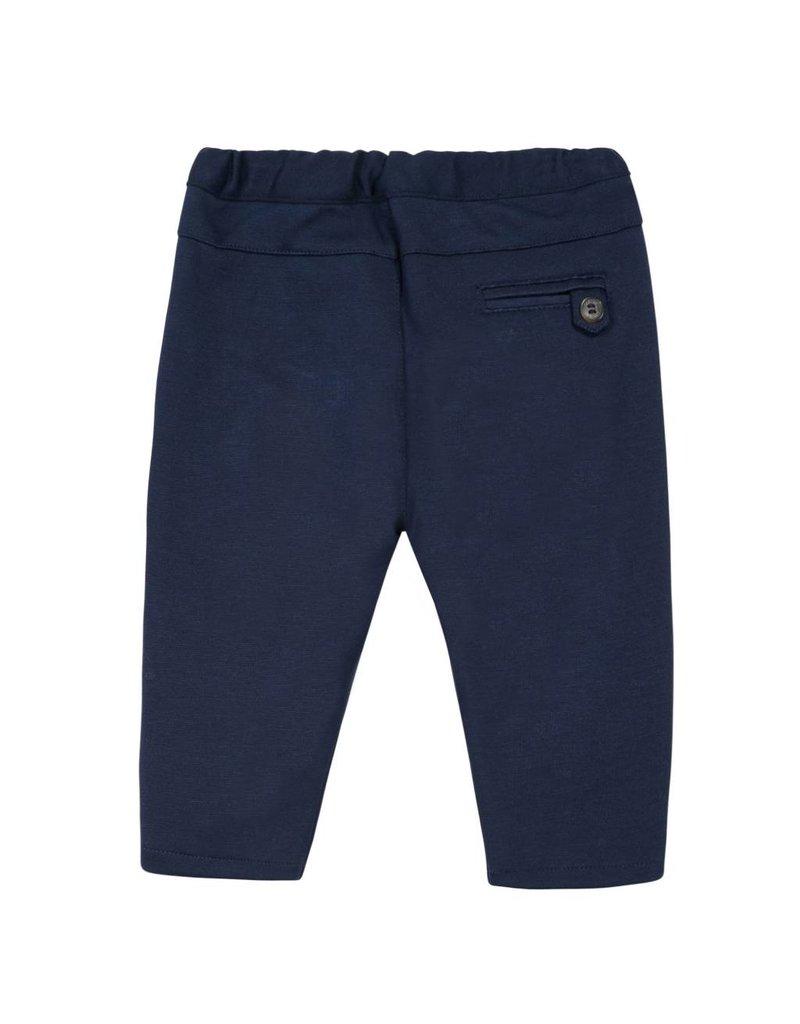 Tartine et Chocolat Donkerblauwe zachte pantalon-maat 94 laatste item!