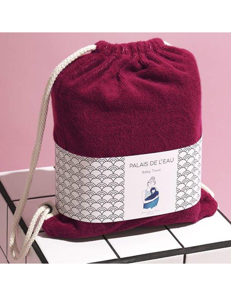 Palais de l'eau Baby Towel cerise