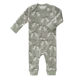 Fresk Pyjama Deer forest green zonder voet