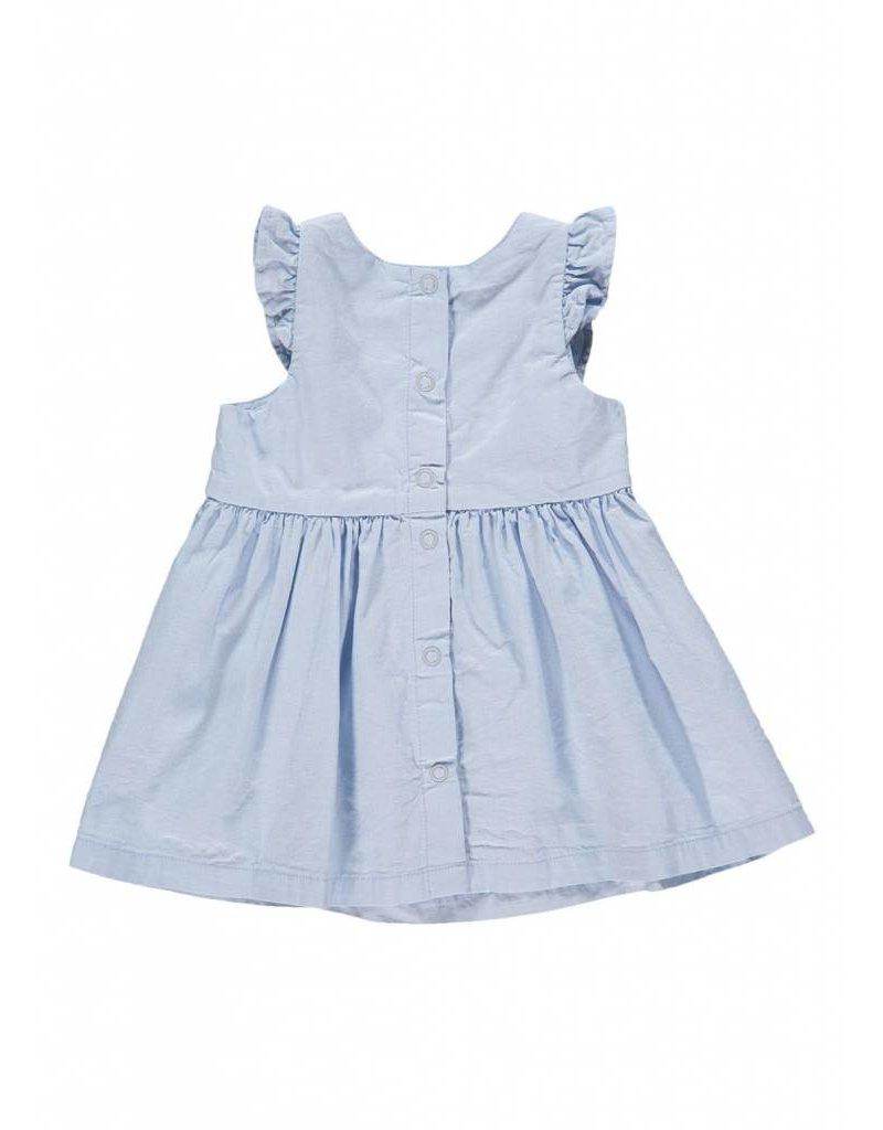 Petit Bateau Lichtblauw zomerjurkje