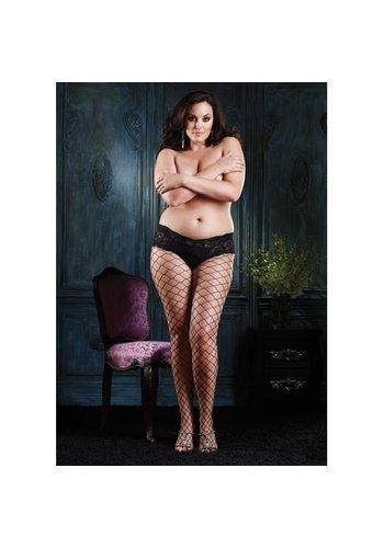 Leg Avenue Diamond Panty - Plus Size