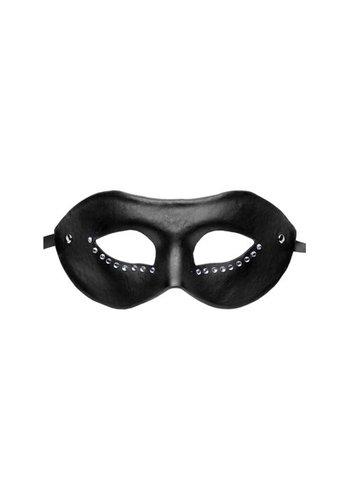 GreyGasms Venetiaans Masquerade Masker - Zwart