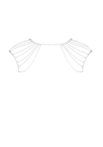Bijoux Indiscrets Magnifique Schouderketting - Zilver