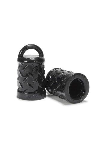 Oxballs Tepelzuigers Zwart Met Structuur