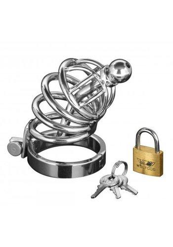 Master Series Asylum Ring Locking Kuisheidskooi