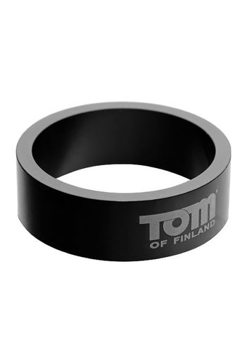 Tom of Finland Aluminium Cock Ring - 50mm