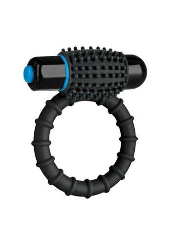 OptiMALE Vibrerende Cockring - Zwart