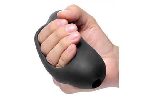 Palm-Tec Masturbator Met Handvat - Zwart