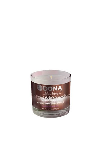 Dona-by-Jo Dona Kissable Massage Candle Chocolate