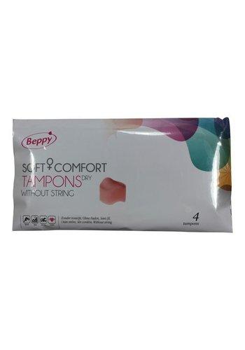 Asha International Beppy - DRY Tampons - 4 stuks