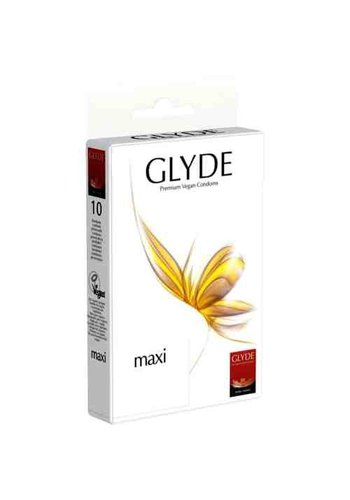 GLYDE Glyde Ultra Maxi 10 Grote Condooms