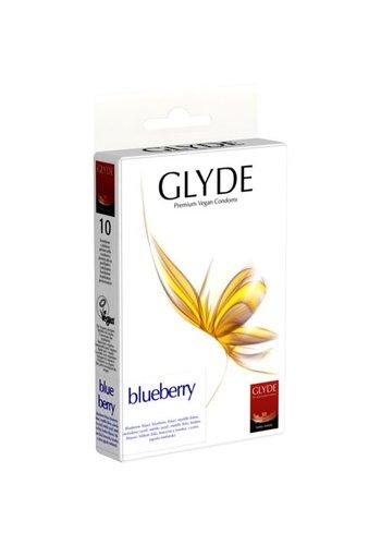 GLYDE Glyde Ultra - Bosbes - 10 blauwe Condooms