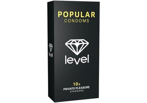Level Popular Condooms - 10 Stuks
