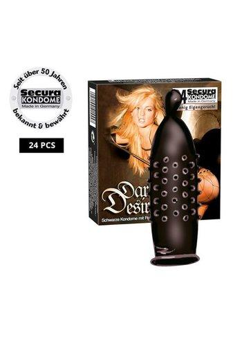 Secura Kondome Secura Dark Desire 24er