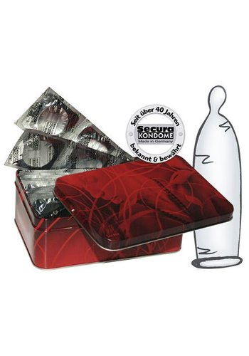 Secura Kondome 50 transparante condooms