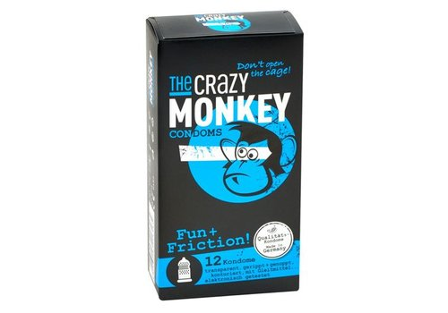 The Crazy Monkey TCMC Fun & Friction! - 12 stuks