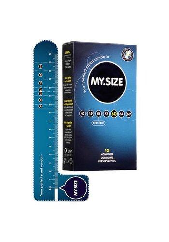 My.Size MY.SIZE 60 mm Condooms 10 stuks