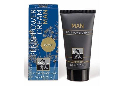 Shiatsu Shiatsu stimulerende crème voor mannen