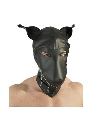 Fetish Collection Leder imitatie hondenmasker