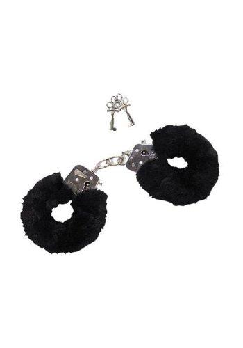 Fetish Fantasy Series Furry Love Cuffs Black