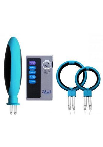 Zeus Electrosex Mingle E-Stim Set Voor Koppels Inclusief Powerbox