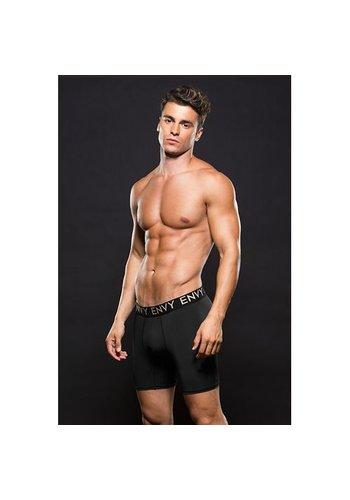 ENVY Zwarte boxer met lange pijpen