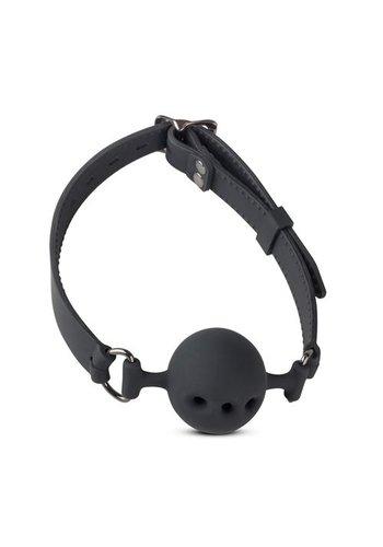 Easytoys Online Only Siliconen Ball Gag Met Luchtgaatjes - Medium