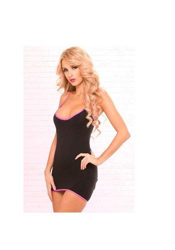 Pink Lipstick Lingerie Zwart jurkje met openingen op de rug