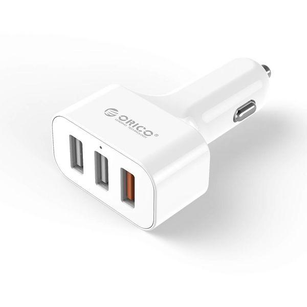 Orico Auto-Ladegerät mit 3 Anschlüssen - Quick Charge 2.0