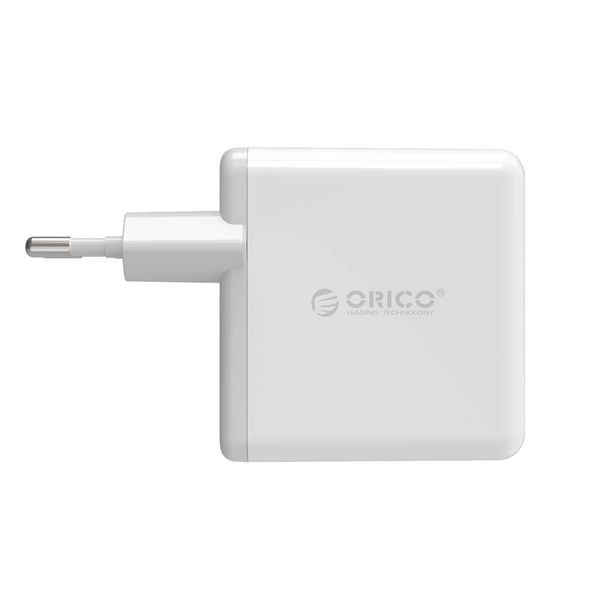 Orico Duo USB Turbo charger met Qualcomm Quick charge 2.0 - 2 poort QC2.0 thuislader 36W, 12v/9v/5v Wit