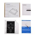 Orico SATA HDD / SSD Caddy pour ordinateur portable et ordinateur portable baie CD / DVD pour 9.5mm Bay optique