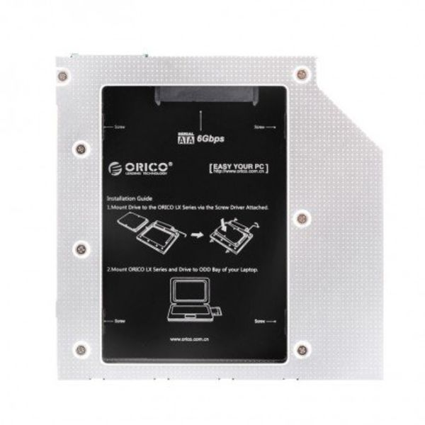 Orico SATA HDD / SSD Caddy for Laptop and Notebook CD / DVD Bay for 9.5mm Optical Bay